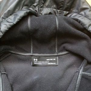 Under Armour Jackets & Coats - Under Armour Lightweight Jacket Black Med like New